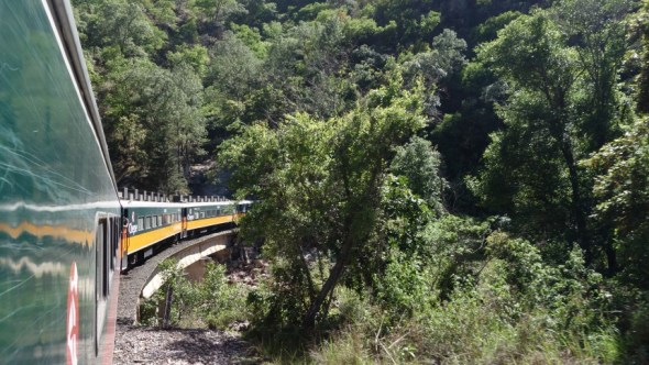Mexico's only passenger train is severely overpriced, but it is a very scenic ride