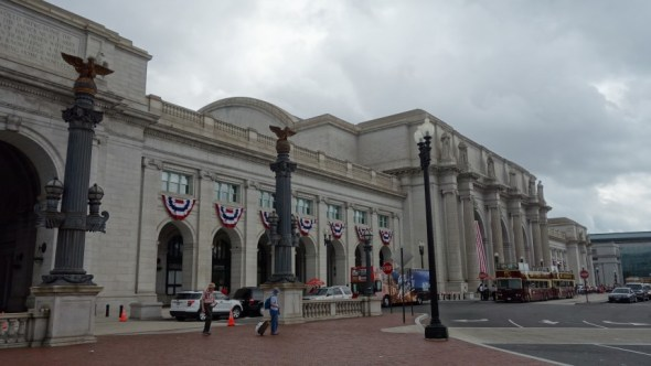 Some of the great Union Stations are still in use, like this one in Washington DC
