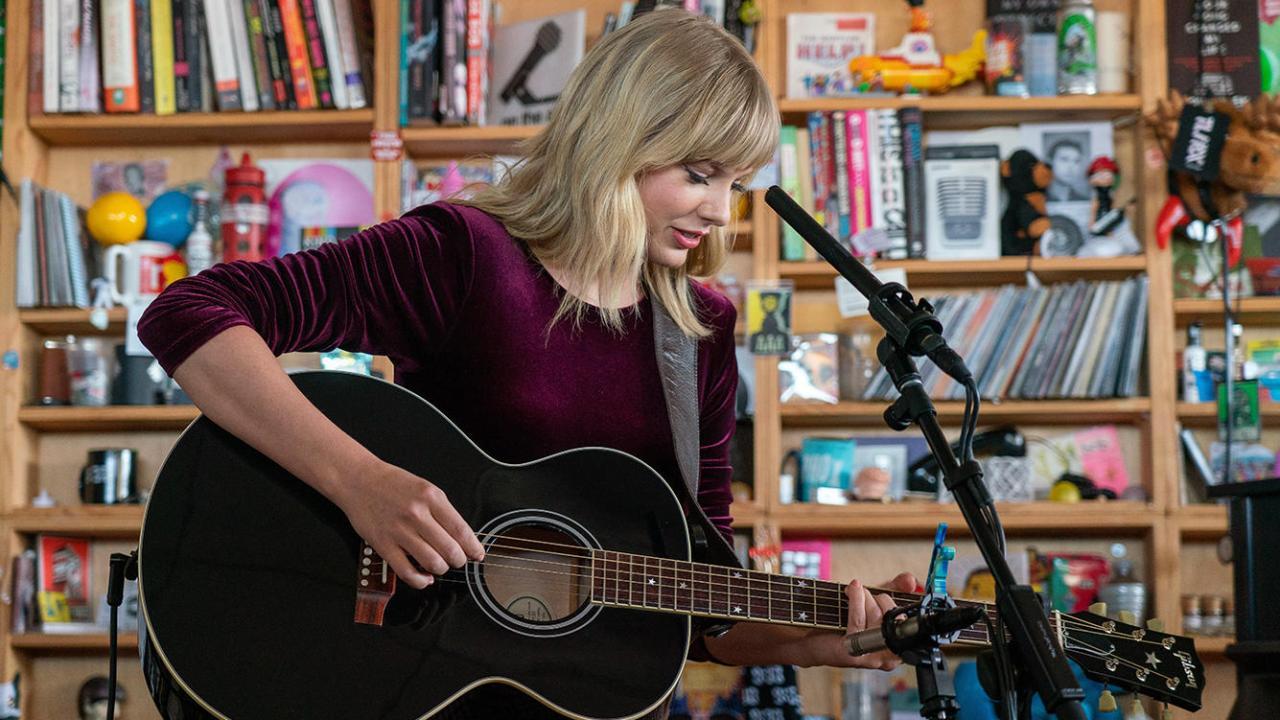 Tiny Desk Taylor Swift 2019