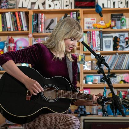 Tiny Desk Taylor Swift 2019