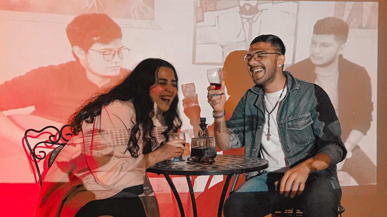 Tania Carrera y Jesús Sabino
