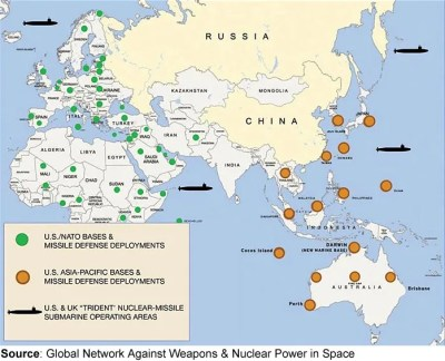US Foreign Military Bases Arent Defense The William Lloyd - Foreign us military bases map