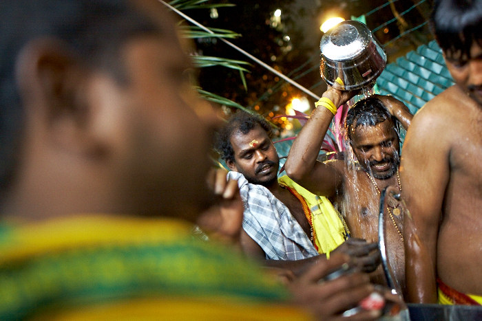 Thaipusam, Photo Essay, Jamie Chan, Singapore, Festival, Washing, No Foreign Lands, Travel, Blogger