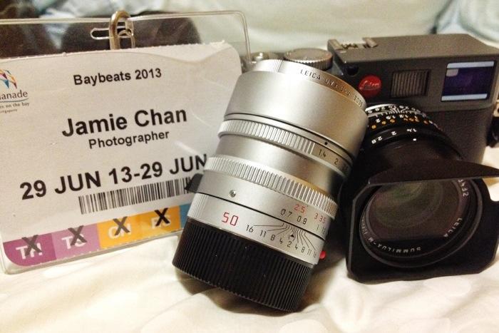 Baybeats 2013 Leica M-E, Jamie Chan, Photographer