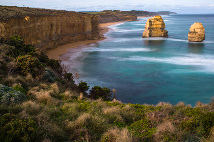 Great Ocean Road, 12 apostles, Jamie Chan, Ocean. Rocks