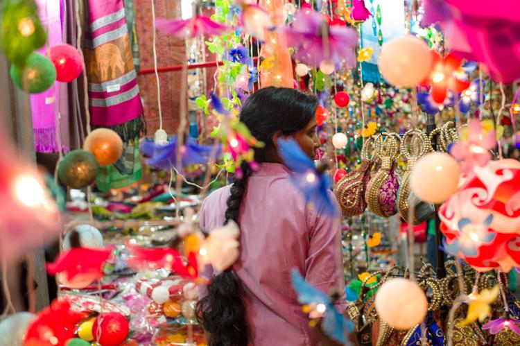 Little India, Deepavali, Lights, Woman, Jamie Chan, Festival, Leica, No Foreign Lands, Singapore, Travel Blogger
