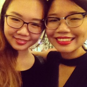 New glasses with Kat