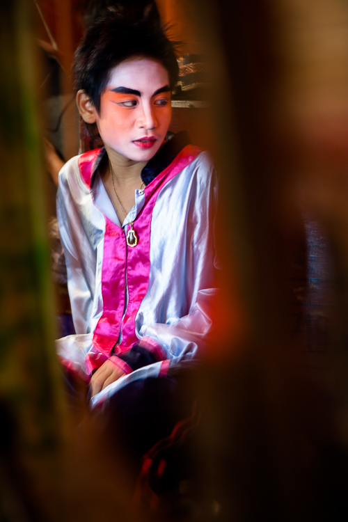 Chinese Opera, Bangkok, Street, portrait