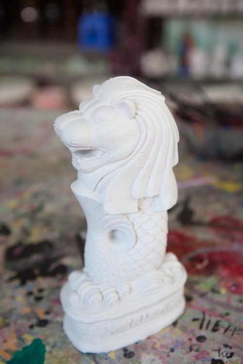 Bát Tràng Pottery Village Merlion