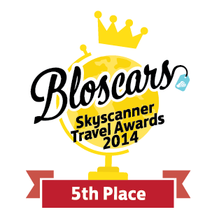 Bloscar Skyscanner Travel Awards 2014