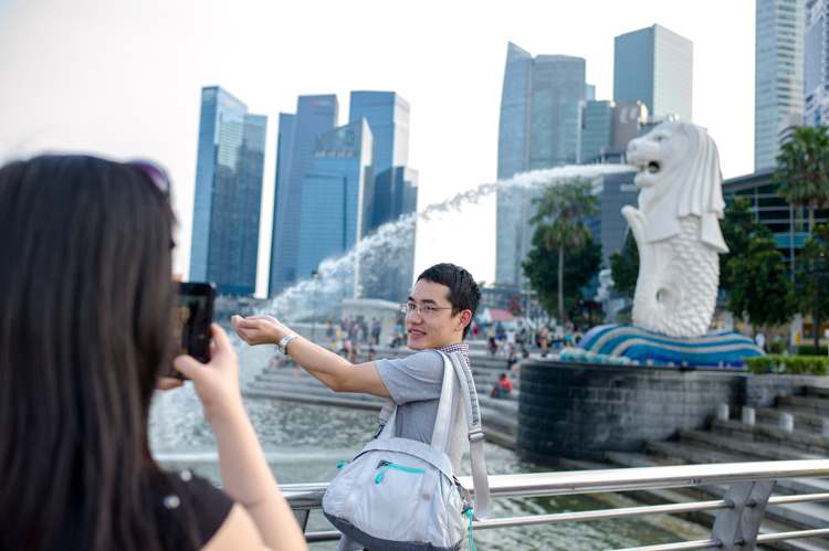 Merlion, Singapore, Tourist, Jamie Chan, Leica, Photography