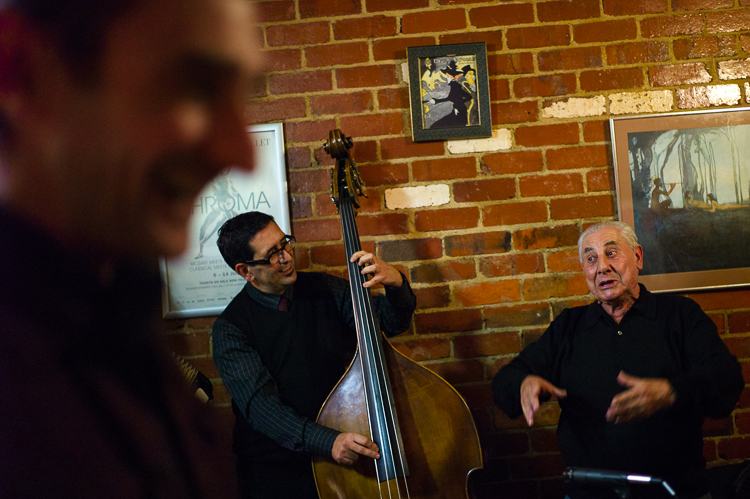 Cafe Bellino, Melbourne Cafe, italian, Jamie Chan, Leica, Accordian, double bass, No Foreign Lands, Blog, Music Photography, singers