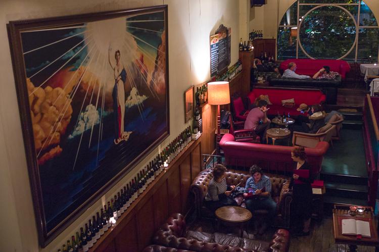 Melbourne Supper Club, Bar, Leica M-E, Jamie Chan, No Foreign Lands, vintage decor, room