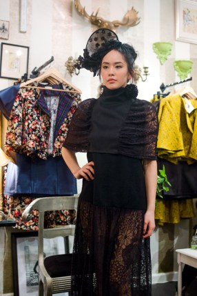 Jamie Chan, No Foreign Lands, Travel, Fashion, Blogger, Leica, Melbourne, Mickey in the Van, Estelle, Model, black dress