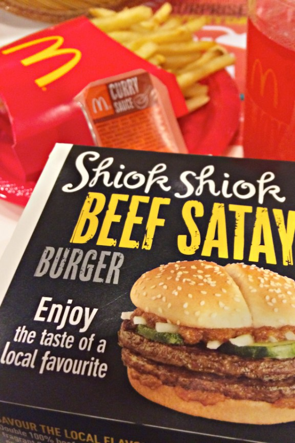 Jamie Chan, Food, Blogger, MacDonalds, Satay Burger, Beef, Delicious
