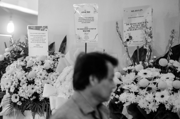 Funeral, Traditional, Jamie Chan, Chinese, Leica, Blogger, flowers, Singapore