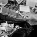 Funeral, Traditional, Jamie Chan, Chinese, Leica, Blogger, Singapore, folding incense paper