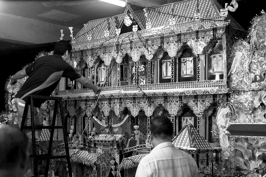 Chinese Funeral, Singapore, Traditional, Leica, paper house, offerings