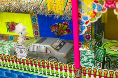 Chinese Funeral, Singapore, Traditional, Leica, paper house, offerings, car, 4D