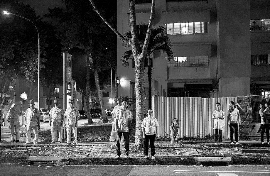 Chinese Funeral, Singapore, Traditional, Leica, Jamie Chan, spirits