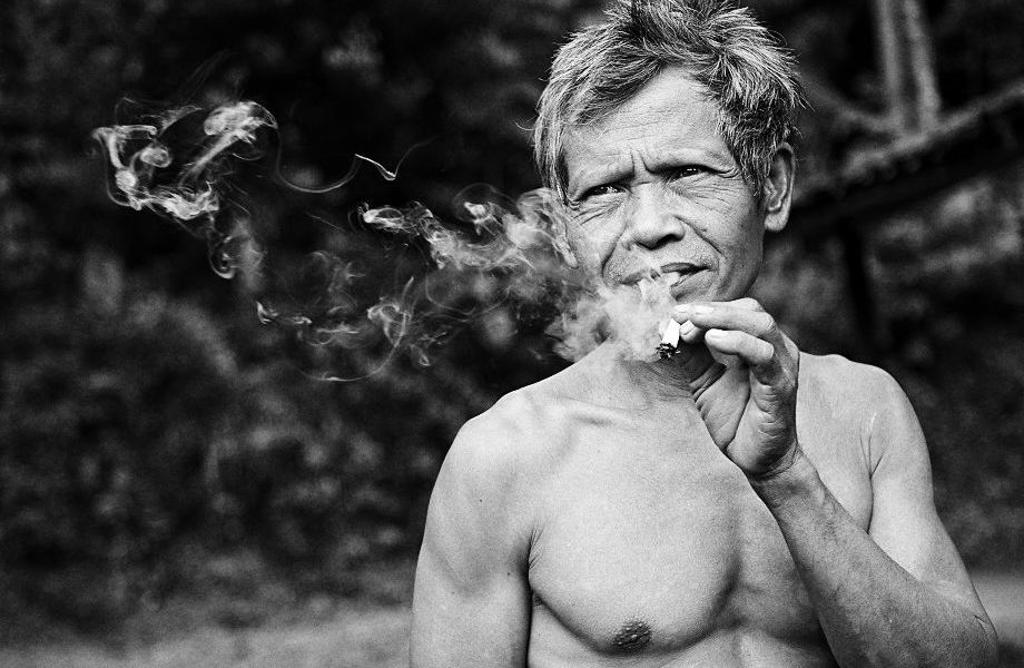 Indonesia, Monochrome, Jamie Chan, No Foreign Lands, Smoking
