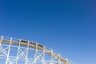 Instagram Worldwide meet, Melbourne, Luna Park, Roller Coaster, Sky high