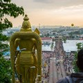 Lord Murugan, Batu Caves, View from the top Thaipusam, 2015, Malaysia, Leica, Summilux, Jamie Chan, No Foreign Lands, Travel