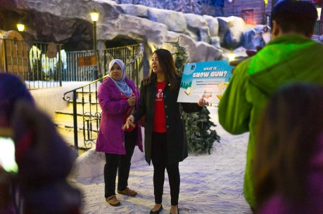 Resort World Genting, Singapore bloggers, travel, Malaysia, Behind the Scenes, Snow World, Jamie Chan, No Foreign Lands, Leica
