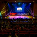 TEDx Singapore, The undiscovered country, stage, lights, Jamie Chan, Leica, No Foreign Lands