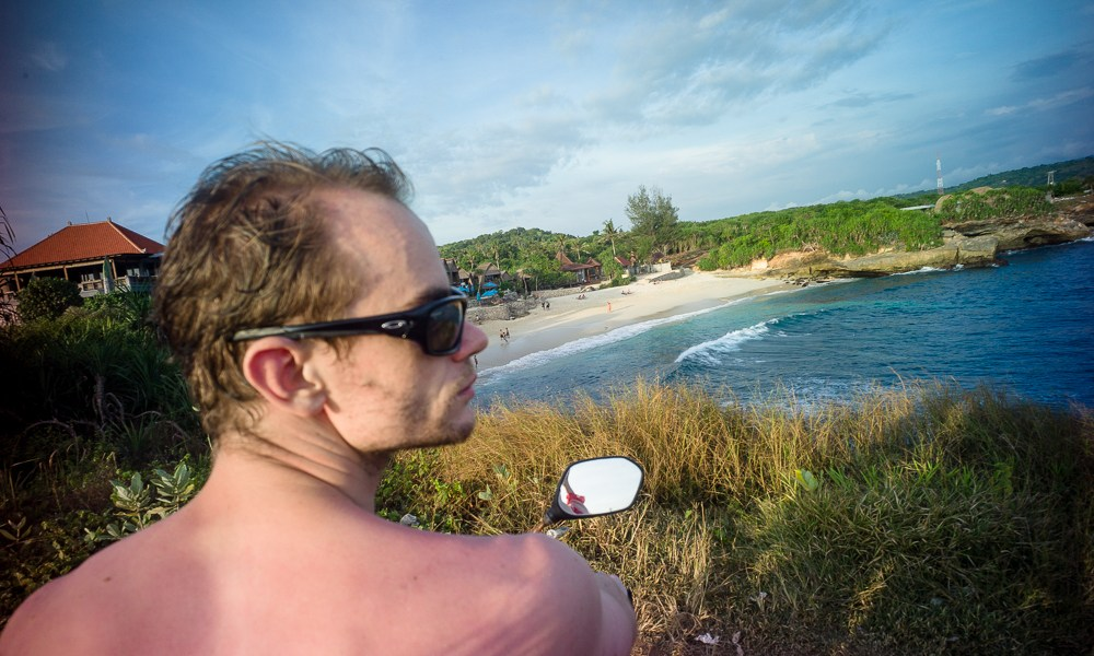 Lomography, New Russar+ Lens, Sandy Beach, Nusa Lembongan, Sea, Leica M-E