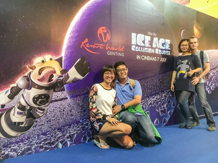 genting, malaysia, jamie chan, blogger, review, june holidays, ice age, game, space collision, Leica