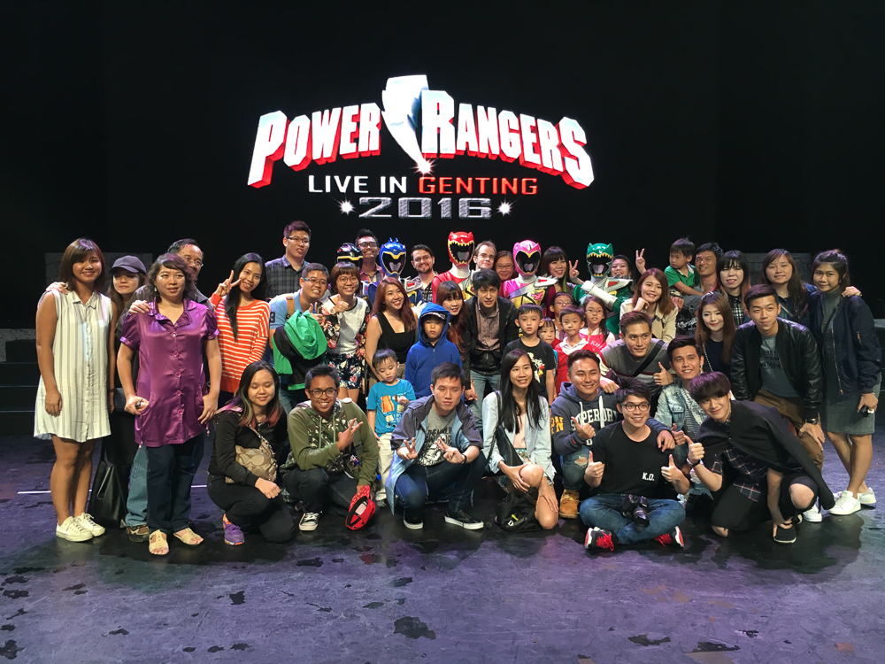 Power Rangers live in Genting