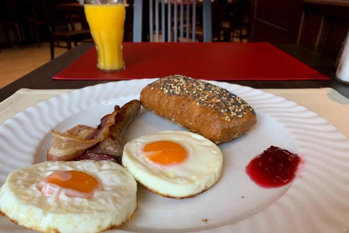 food, breakkie, breakfast hotel michel, wetzlar, germany