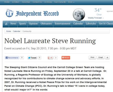 Steve_Running_nobel_laureat