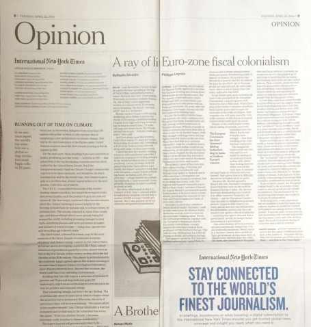 NYT editorial