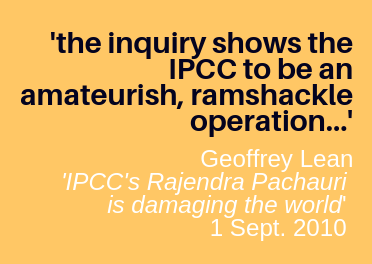 BBC Ignores Widely Publicized UN IPCC Problems – Reality: IPCC is an 'amateurish, ramshackle operation'