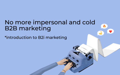 B2i Marketing: B2B, with a difference