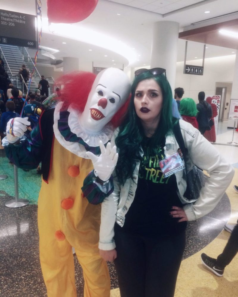 it pennywise the clown cosplay horror