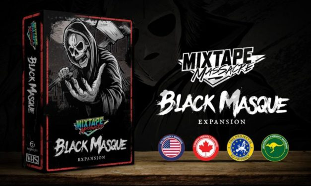 MIXTAPE MASSACRE Expansion Pack 'THE BLACK MASQUE' Coming Soon