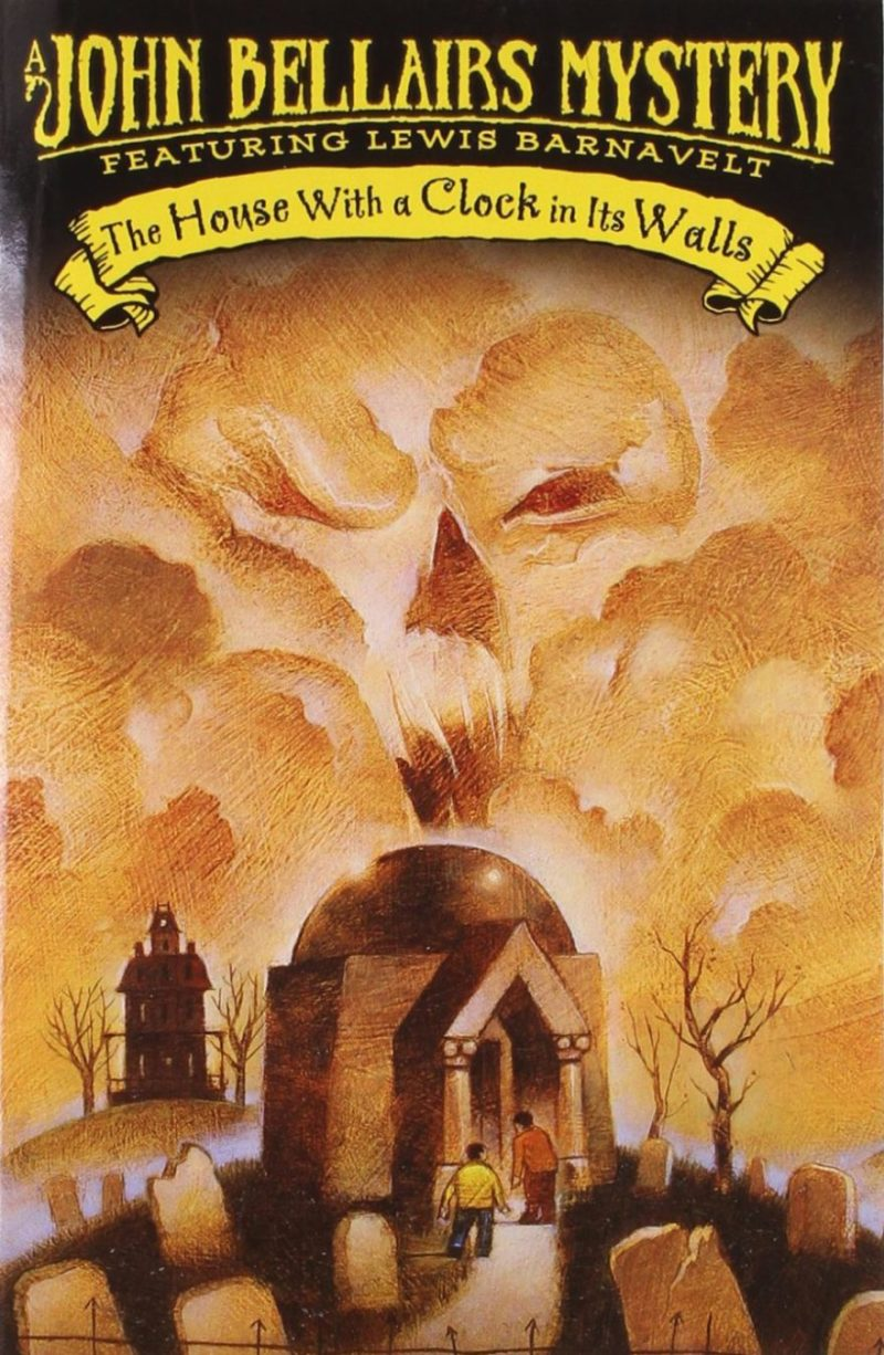 the house with a clock on it's walls john bellair's mystery