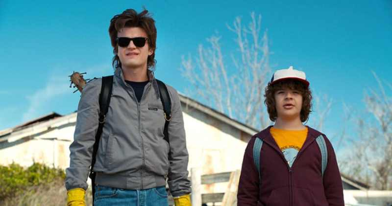 Stranger Things 2- Steve and Dustin