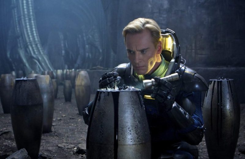 David in Ridley Scott's Prometheus