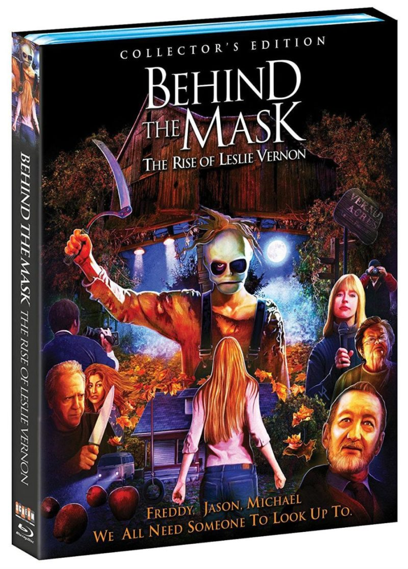 BEHIND THE MASK: THE RISE OF LESLIE VERNON BLU RAY