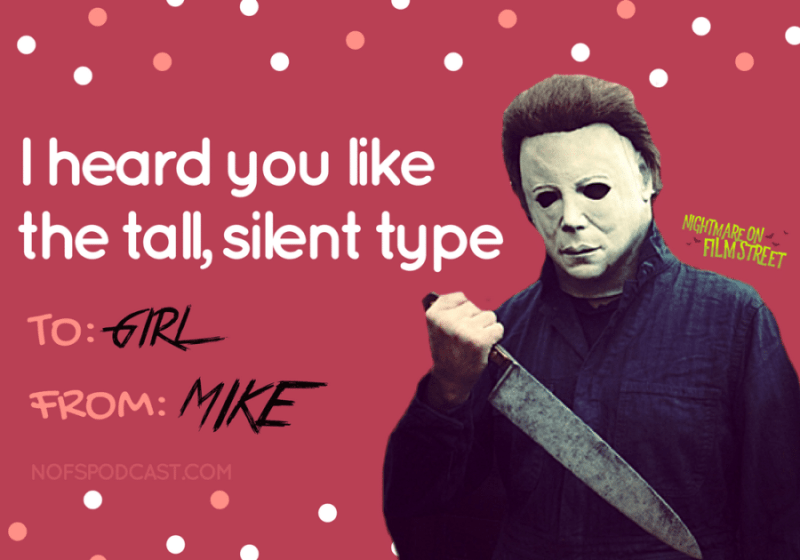 8 Horror Movie Themed Valentine S Day Cards For Your Sick Twisted