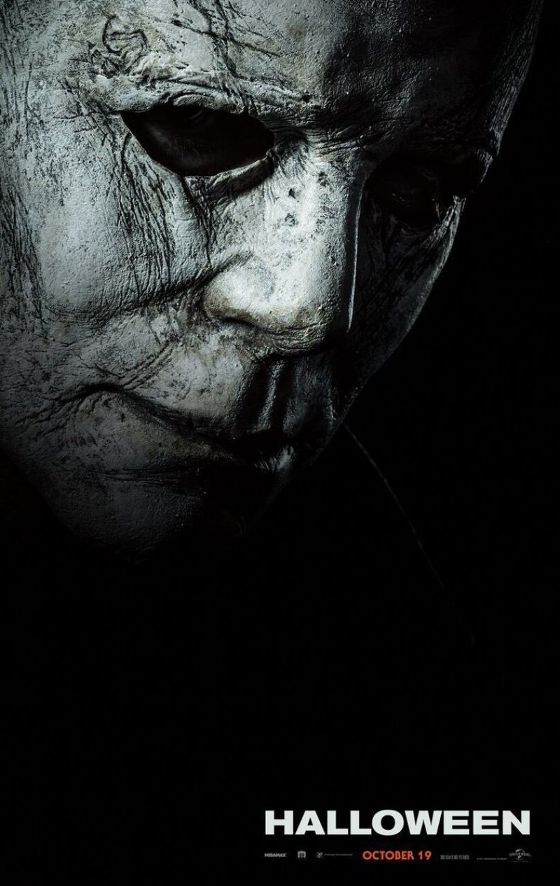 halloween blumhouse poster michael myers the shape 2018