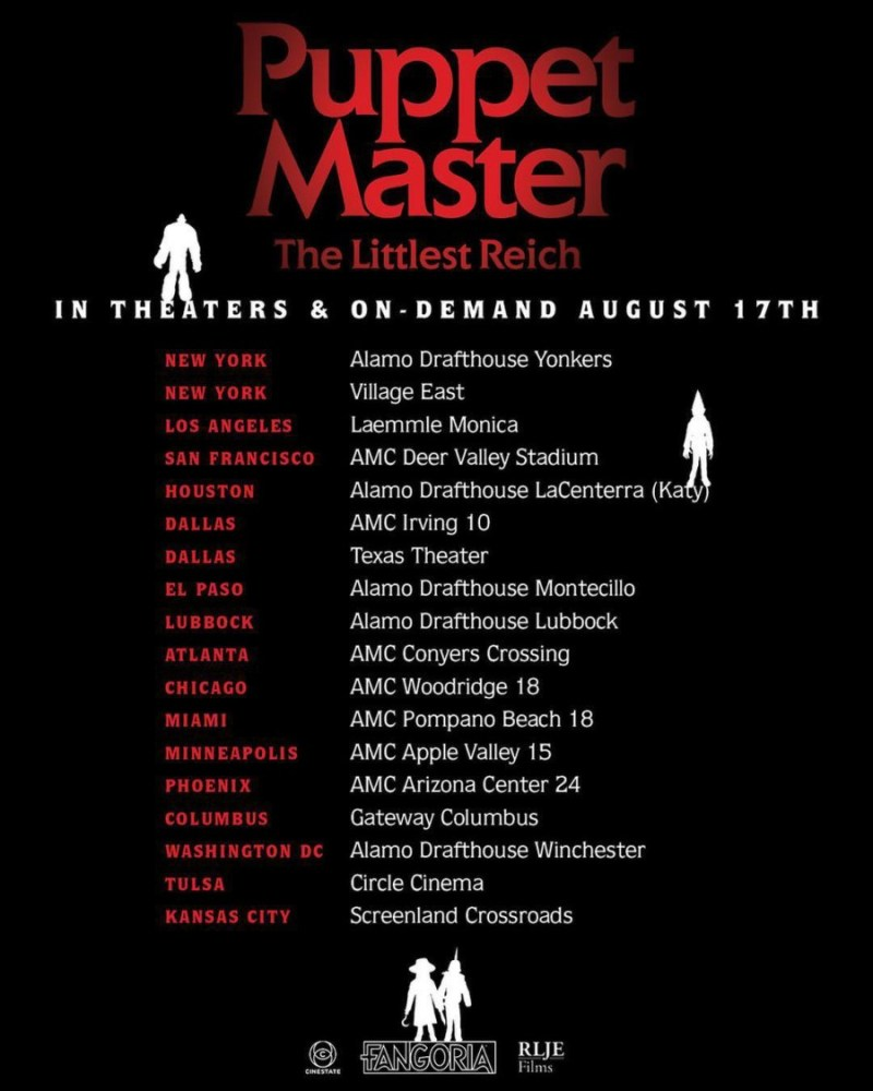 puppet master threatrical tour