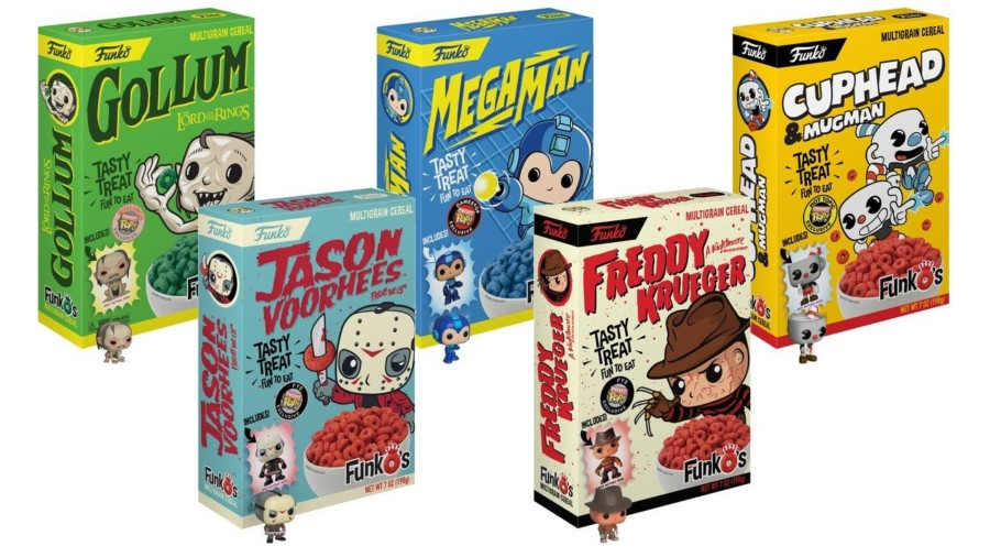 FunkO's Killer Cereals Let You Have FREDDY & JASON for Breakfast