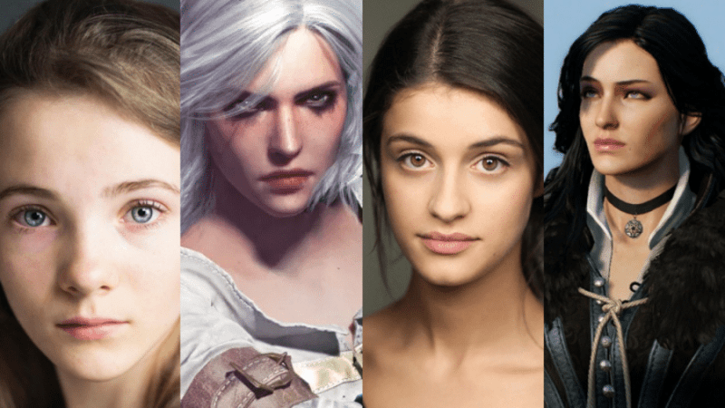 witcher series casting