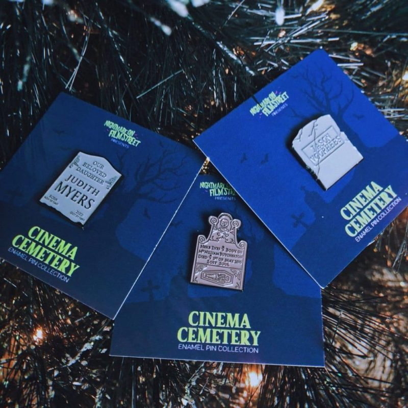 nightmare on film street horror pins