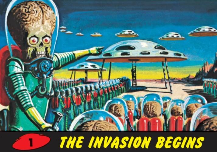 Mars Attacks the invasion begins